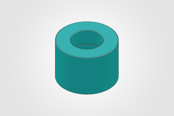 Cylindrical Nylon Roller (For Press Roll)
