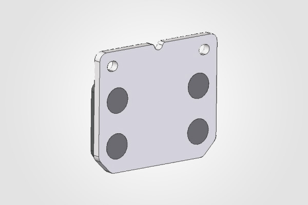 Guide Support Bracket (Aluminium LM-25)